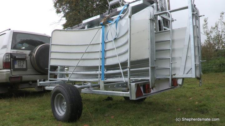 Mobile Sheep Handling Race - Sheep Unit - ShepherdsMate