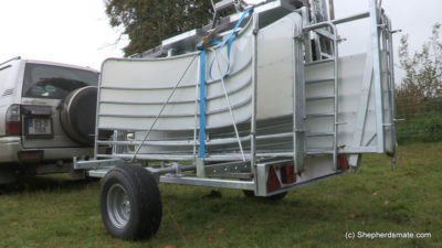 Shepherdsmate - Mobile Sheep Race - Can carry up to 25 Hurdle Gates on Race