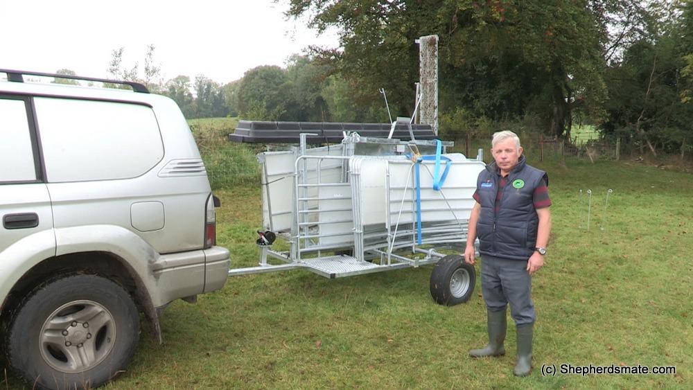 Mobile Sheep Handling Race -