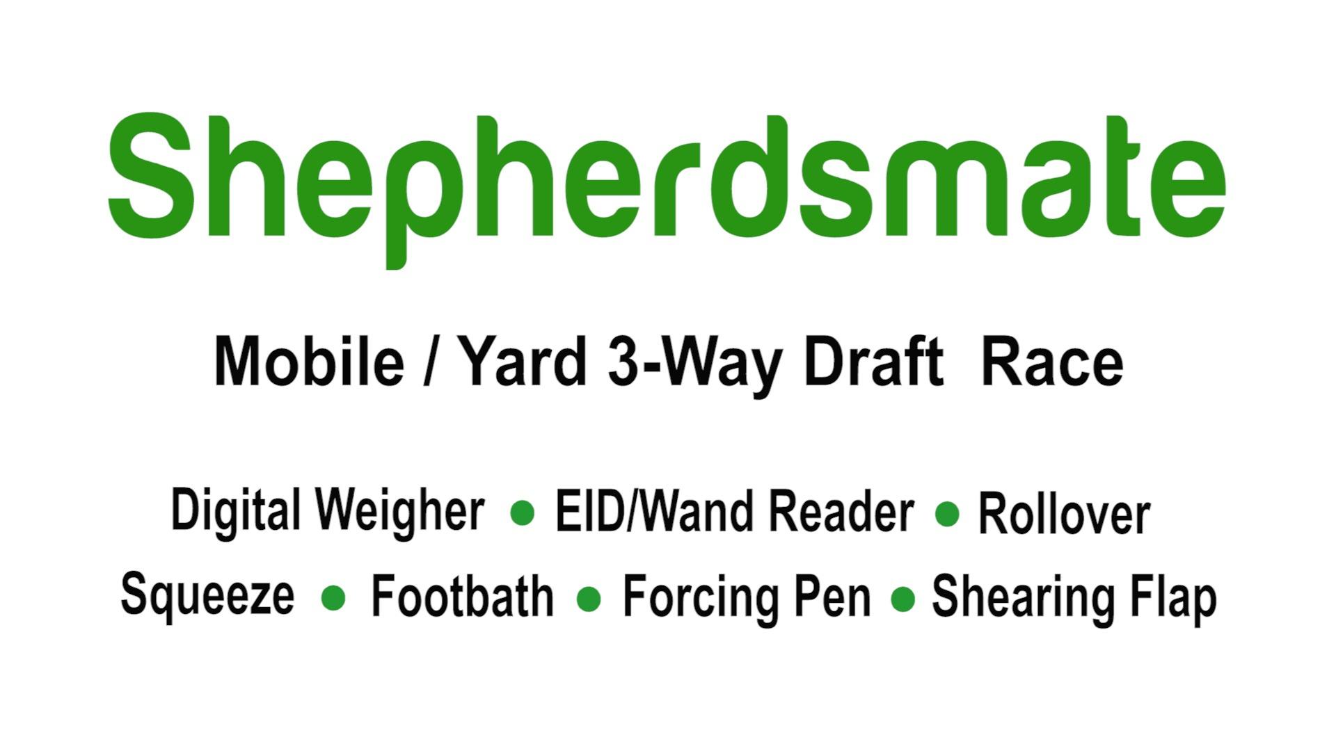 Shepherdsmate Mobile Sheep Handling Race