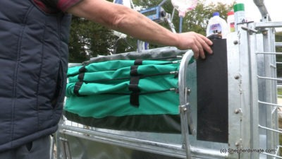 Shepherdsmate sheep Handling Equipment - Mobile or fixed yard Sheep Race with sheep rollover