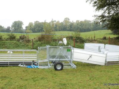 Mobile Sheep Handling Race - Sheep Equipment